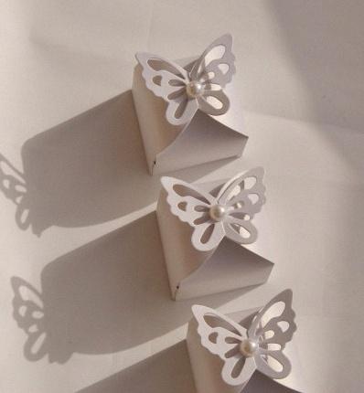 dragées papillons