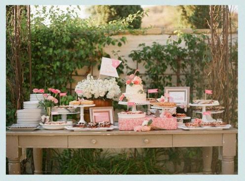 comment faire une sweet table