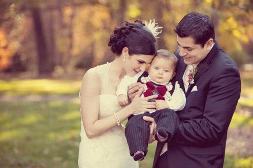 baptême et mariage en même temps