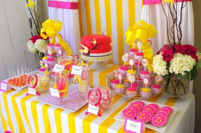 papillons sweet table