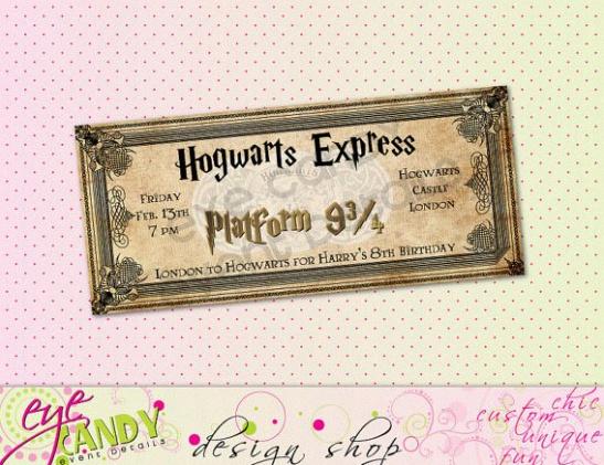 Bien-aimé Un baptême Harry Potter YK77