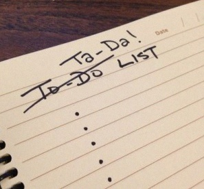 to do list baptême