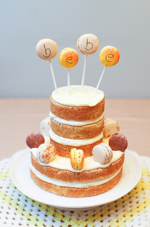 Le Naked Cake Un G 226 Teau Original Et Tendance Joli Bapt 234 Me