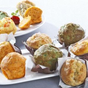 mini-muffin salé