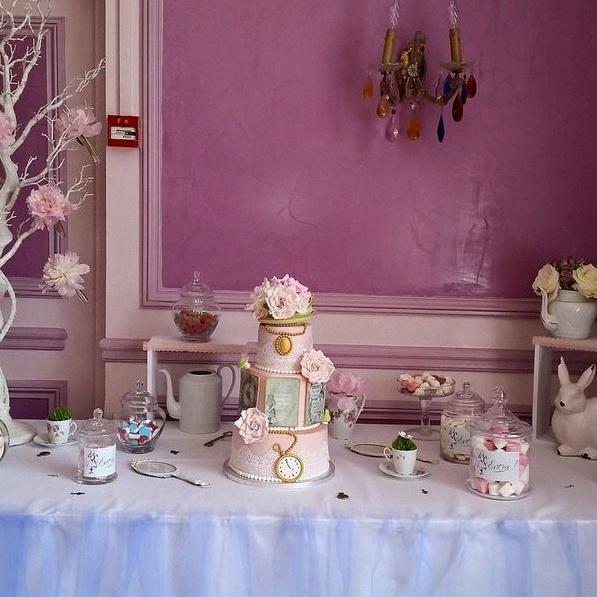 Le bapt me d 39 alice au pays des merveilles - Deco de table vintage ...