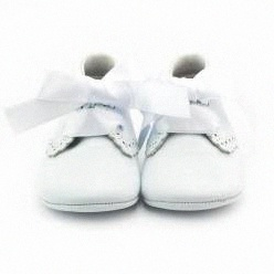 chaussons de baptême et de chaussures de cérémonie