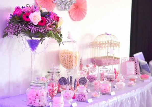 le bapt me princesse chic de tiyana en rose et parme. Black Bedroom Furniture Sets. Home Design Ideas