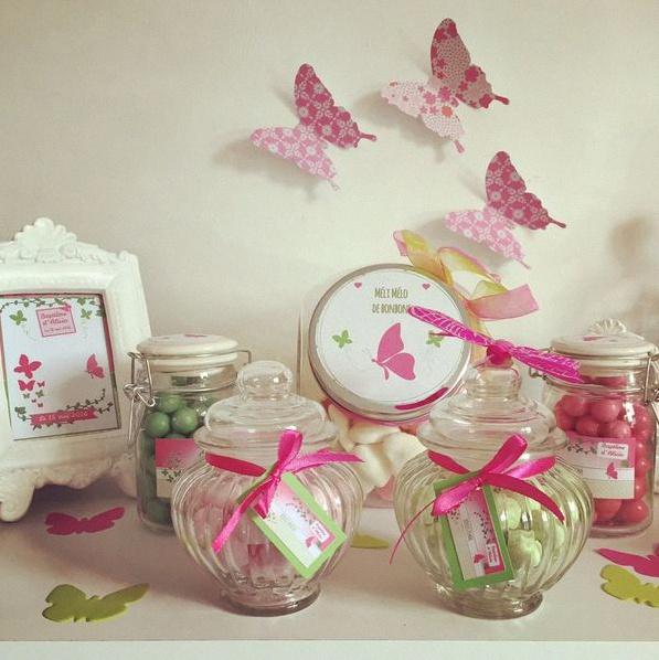 Decoration Bapteme Papillon