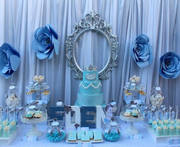 bapteme blanc bleu petit prince