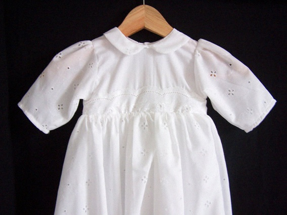 robe bapteme ancienne traditionnelle vintage broderie