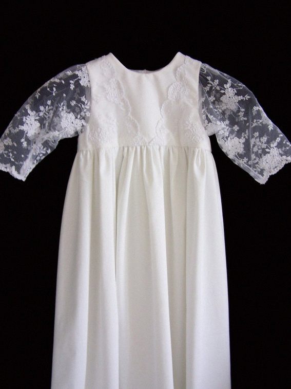 robe bapteme ancienne traditionnelle vintage