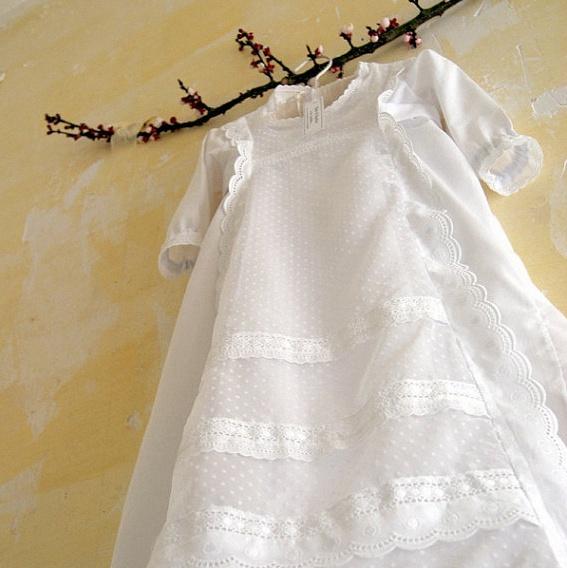 robe bapteme ancienne traditionnelle vintage