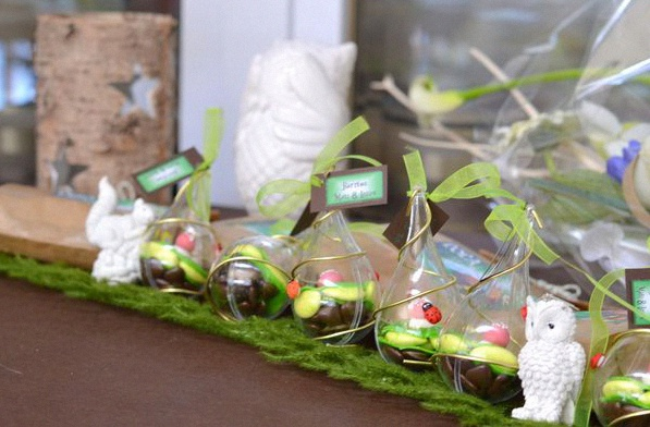 décoration de bapteme foret enchantée