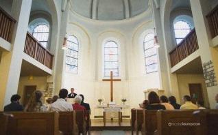 Une jolie messe de baptême à Paris suivie d'un déjeuner à Montmartre