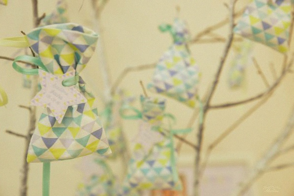 décoration bapteme moulins à vent