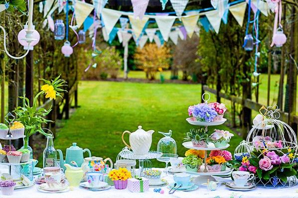 garden party bapteme
