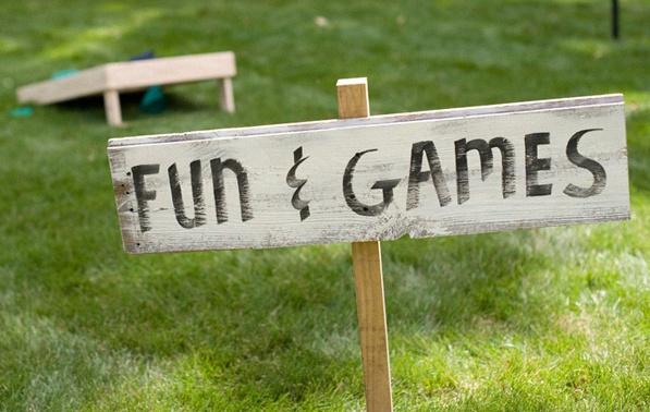 zones espaces garden party