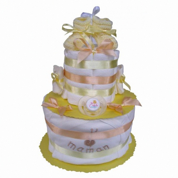 diaper cake mixte