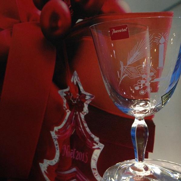 verre en cristal personnalisé communion