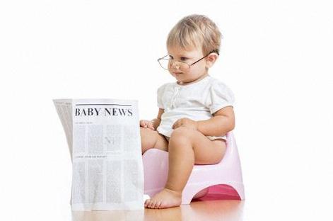 bébé propre couches apprentissage propreté