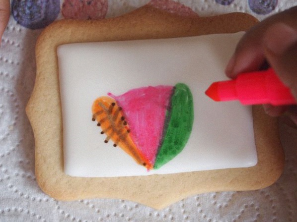 atelier coloriage de biscuits sablés