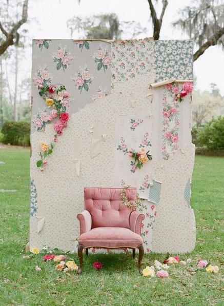 décor photobooth papier peint