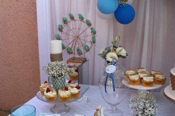 décoration bohème tipi champêtre bapteme anniversaire boho sweet table