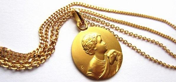 Anne.K : médailles de baptême originales et jolies made in France