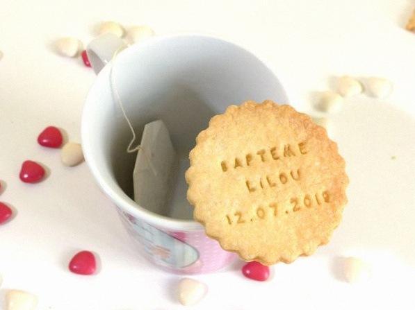 biscuit sablé personnalisé bapteme mariage baby shower