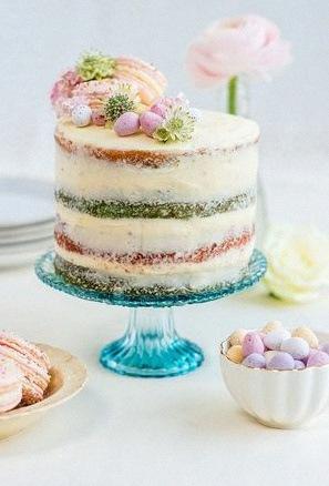 recette gateau bapteme naked cake