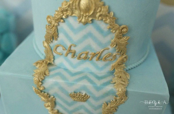 bapteme petit prince sweet table décoration prince