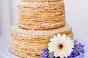 Recette de gâteau de baptême : un gâteau de crêpes mascarpone caramel
