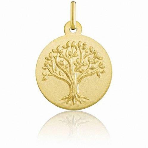 medaille de bapteme arbre de vie