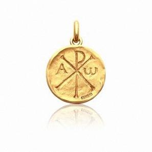 medaille de bapteme chrisme