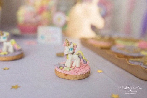 sablé licorne biscuit