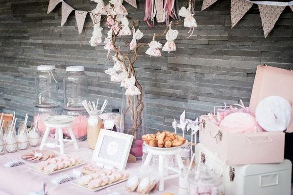 décoration liberty bapteme liberty sweet table liberty