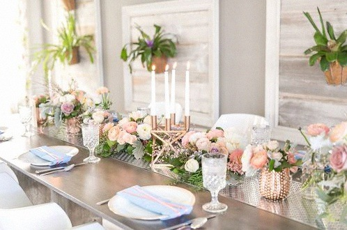 Rose Gold decoration