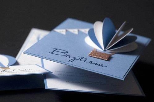 invitation bapteme personnalisée