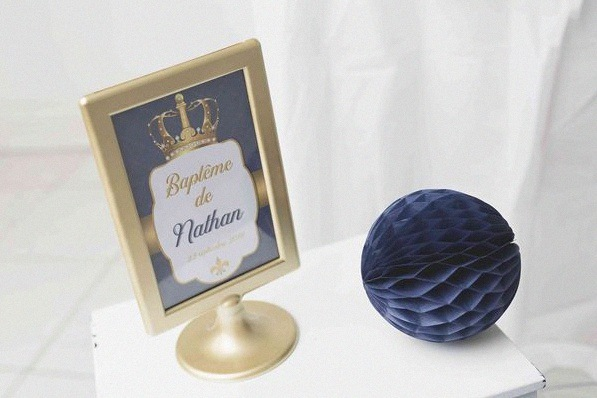 baptême Petit prince royal