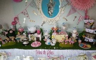 Comment organiser un baptême Alice au pays des merveilles ?