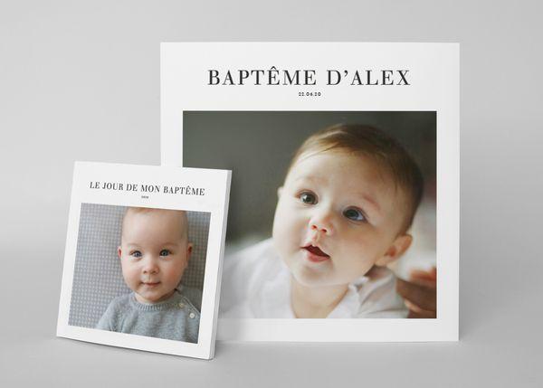 album de baptême